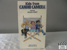 Kids From Candid Camera VHS Allen Funt, Muhammad Ali