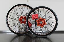 SM PRO PLATINUM WHEEL SET / RIM HUB SPOKES COMPLETE! LIGHTER THAN EXCEL & TUSK