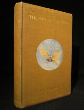 THE ART OF AVIATION Brewer 1910 FOLD-OUT PLATES Rare TRANSPORTATION Antique BOOK
