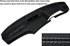 GREY STITCH DASH DASHBOARD LEATHER SKIN COVER FITS BMW 6 SERIES E24 82-87