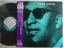 UNRELEASED / SONNY ROLLINS VILLAGE VANGUARD / UN-PLAYED JAPAN BLUE NOTE KING WIT