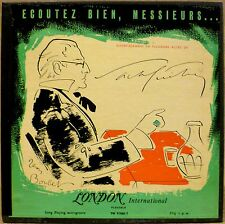 UK IMPORT 2 LP BOX: SACHA GUITRY, ECOUTEZ BIEN MESSIEURS London TW 91060/1
