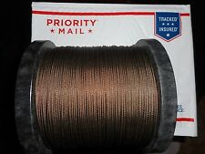 American Fishing Wire 7x7 49-Strand Stainless Camo  480lb 100' AND 50 SLEEVES