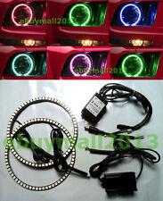 RGB Halo Rings For Ford Mustang 2005-2009 Multi-Color LED Demon Devil Angel Eyes