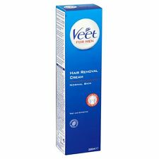 2 X Veet for MEN Hair Removal Cream Normal Skin 200ml