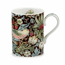 Royal Worcester William Morris & Co Strawberry Thief Mug Chocolate Brown Boxed