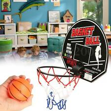 Child Kids Mini Indoor Basketball Game Set Toys Gift Includes Ball Hoop Sticker