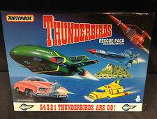 "1992 MATCHBOX THUNDERBIRDS RESCUE PACK ""THUNDERBIRDS ARE GO"" FIVE VEHICLE SET"
