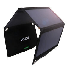 Vodool 21W Foldable Solar Panel Charger with 2 Mic Ports for iPhone 6 Plus 6s