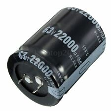 1 PCS 22000uF 63V Volt Electrolytic Capacitor Audio Amp Power Supply 35mm x 45mm