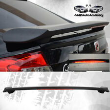 ABS Rear Lip Spoiler Wing Matte black For 2012-2015 Honda Civic Sedan 4Door