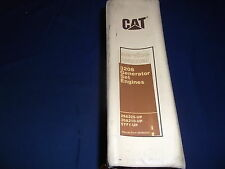 CAT CATERPILLAR 3208 GENERATOR SET ENGINE SERVICE SHOP REPAIR MANUAL 29A 30A 5YF