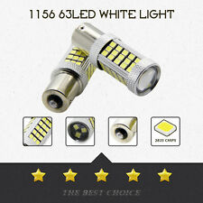 1PCS 1156 2835 63  DC 12V  LED 6000K Car Projector Fog Driving Light White Bulb