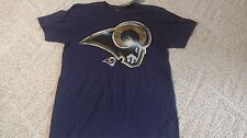 LOS ANGELES RAMS SHIRT SUPER SOFT SIZE LARGE NEW WITH TAGS MAJESTIC