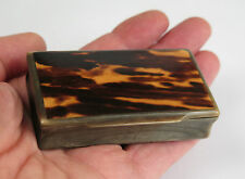 Scottish Horn snuff box c1890