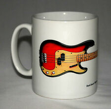Guitar Mug. Duck Dunn's 1958 Fender Precision Bass illustration.