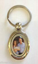 Baby Prince George, Prince William & Kate Middleton Versilbert Schlüsselring