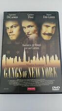 GANGS OF NEW YORK MARTIN SCORSESE DVD + LIBRETO PELICULA CASTELLANO INGLES