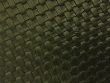 "Black Basket Weave Woven Upholstery Vinyl Fabric - Sold By The Yard - 54"" / 55"""