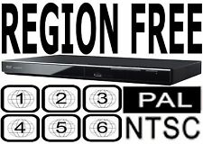 Panasonic DVD-S700P-K Region Code Free Player Plays ANY DVD from ANY COUNTRY!