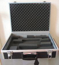Klassiker !!! 70er 70s -- Schöner Camera Kamera SLR Koffer mit Alu + Schlüssel