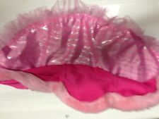 NWT VICTORIA'S SECRET Pink Valentine Day satin feel  Bling Sexy Mini Skirt