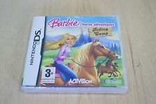 Rare barbie Horse Aventure camp d'équitation Nintendo 3DS DS 2DS new factory sealed