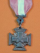 US Fraternal Organizations UDC Cross Medal Order Badge of WW2 Military Service