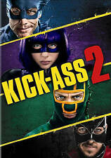 KICK ASS 2 (DVD, 2013) NEW