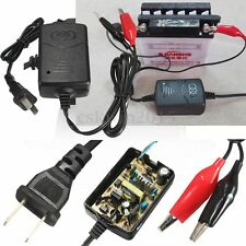 12V Trickle Battery Charger 12 Volt Car Van Toy Motor Home Motorcycle Quad Bike