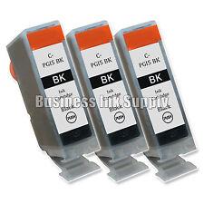 3 New Black PGI-5 PGI-5BK PGI 5 ink cartridge for Canon