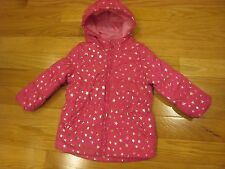 Children's Place girls star puffer coat pink size 2T dressy fall spring.