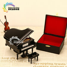 Mini musical instrumentsWooden grand piano instrument Decoration gifts M-11