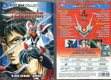 TEKNOMAN VOL. 2 - BOX COLLECTION 4 DVD (NUOVO SIGILLATO)