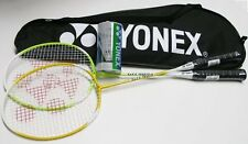 Yonex Badminton Racket Combination Package COMBO Set Recreational 2 Player 2015