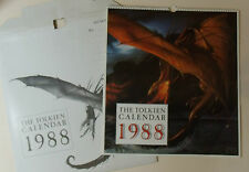 TOLKEN Calendar 1988 NEW fantasy Art Lord of the Rings The Hobbit Vintage Rare