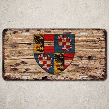 LP0157 Old Vintage Family Crest Sign Auto License Plate Home Store Gift Decor