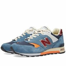NEW BALANCE 577 TEST MATCH MEN'S SHOES SIZE US 11 MADE IN ENGLAND BLUE M577TBO