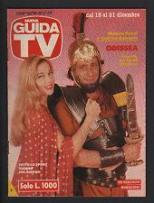 NUOVA GUIDA TV MONDADORI 50/1991 MOANA POZZI ANDREA RONCATO PROGRAMMI TV LOCALI