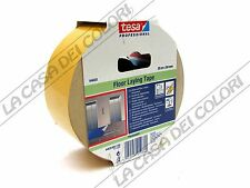 TESA FLOOR LAYING TAPE - NASTRO BIADESIVO UNIVERSALE IN PVC - 50mm X 25m