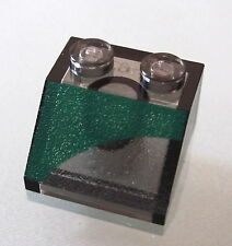 LEGO 3039px18 @@ Slope 45 2 x 2 with Green Semicircle Right Pattern @@ Set 7133