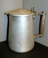 Ancien cruche pichet pot a lait bouilloire en alu avec couvercle – Unis, France