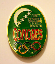 Comores Undated Olympic NOC Pin