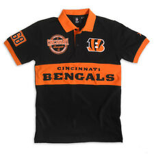CINCINNATI BENGALS KLEW XL Shirt NFL Polo Rugby Collared Short Sleeve NEW NWT
