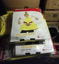 24 x Wholesale Joblot Smiffy's Angry Bird Kids Fancy Dress Pig Costume Yellow