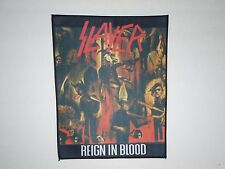 SLAYER REIGN IN BLOOD SUBLIMATED BACK PATCH