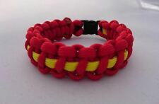 Midlands Air Ambulance Charity MAAC Inspired handmade paracord bracelet