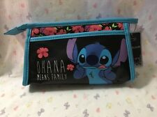 LOUNGEFLY Disney Stitch Makeup BAG CASE Ohana Means Family