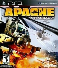 APACHE AIR ASSAULT PS3! FLIGHT HELICOPTER CHOPPER COMBAT ATTACK BATTLEFIELD NEW
