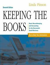 Keeping the Books: Basic Recordkeeping and Accounting for the Successf-ExLibrary